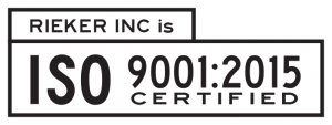 Rieker Inc is ISO 9001:2015 certified.
