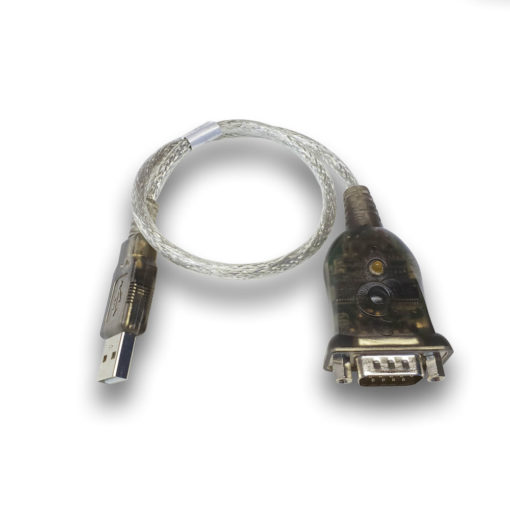 A-USB cable to interface our RDS7-BB-09 units with a USB enabled device.